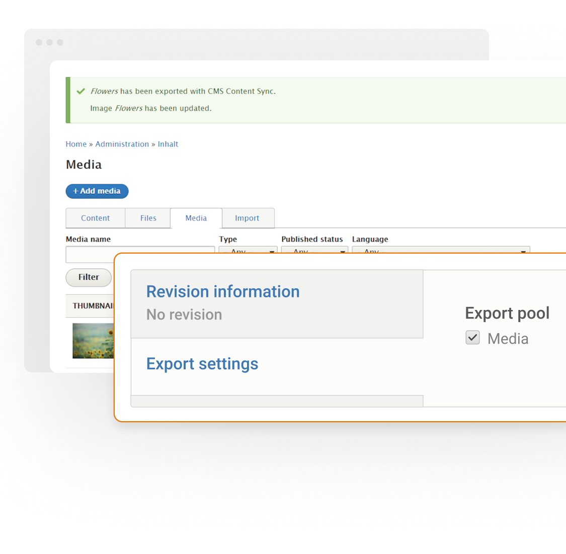 Content Syndication Example